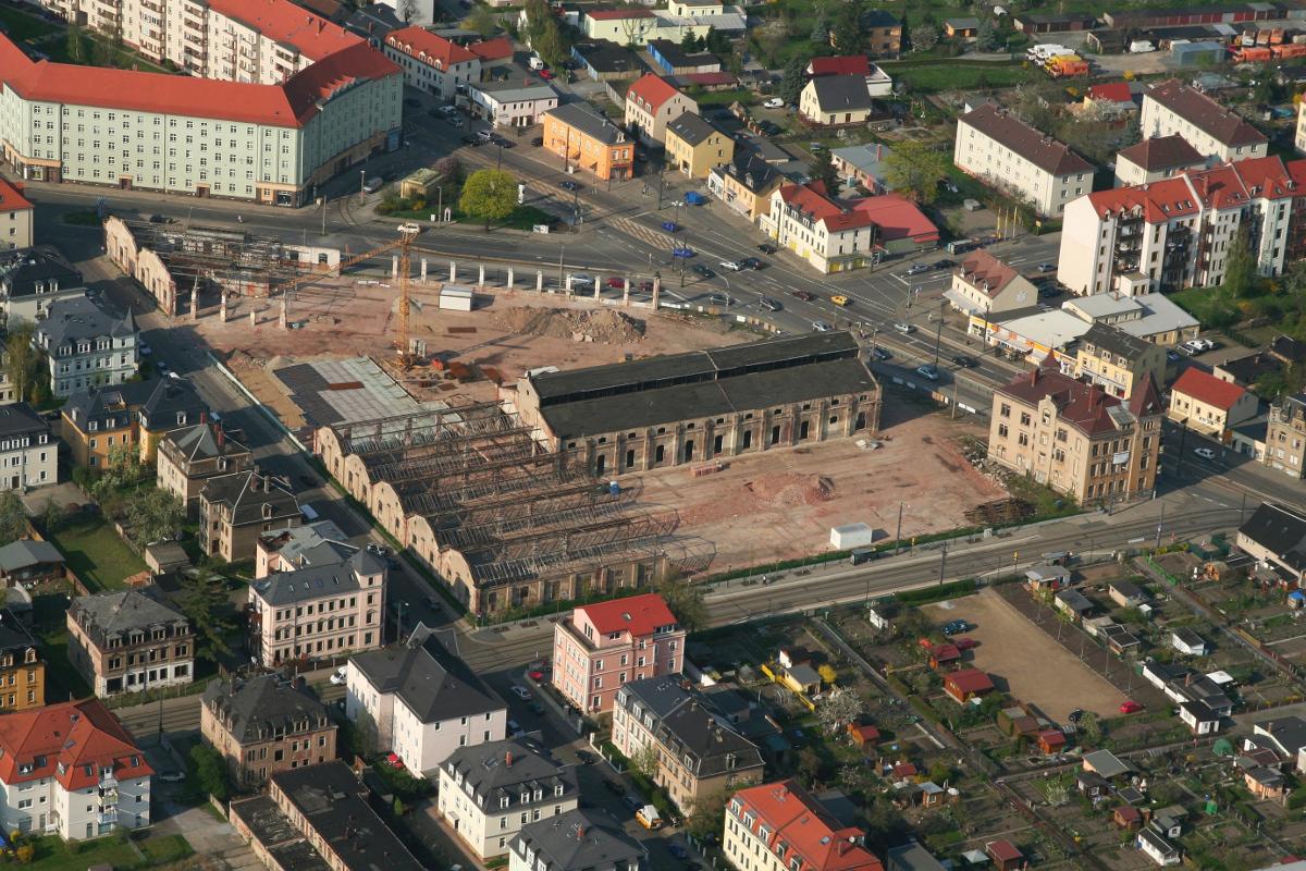 Strassenbahnhof Mickten 11042009