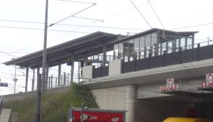 Haltepunkt Trachau Polizei