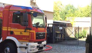 Leisniger Straße Brand