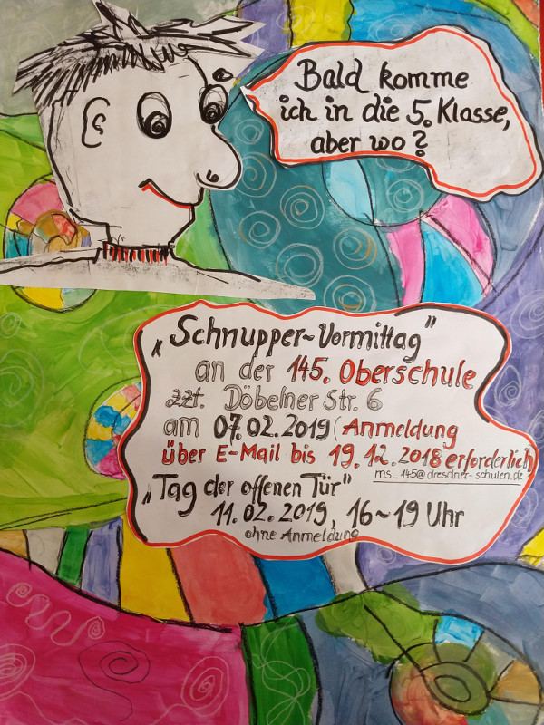 schnuppertag poster