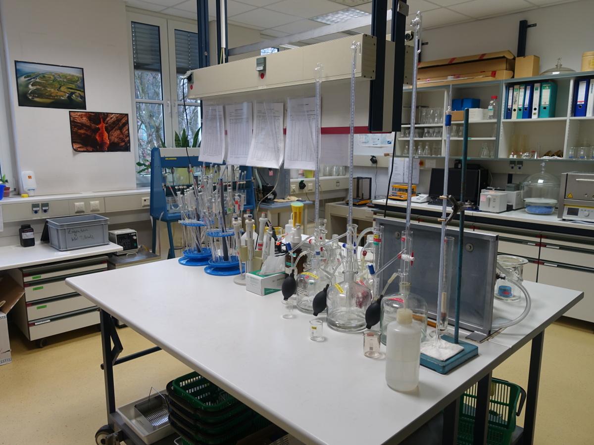 Drewag Wasserwerk Coschütz Labor
