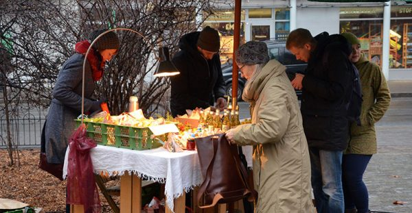 advent in pieschen markt