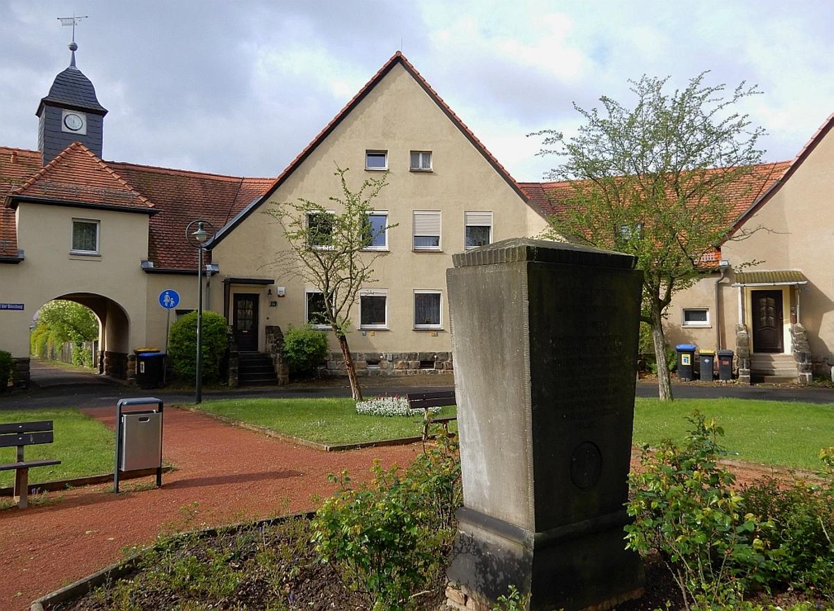 Heimstätten Gedenkstein