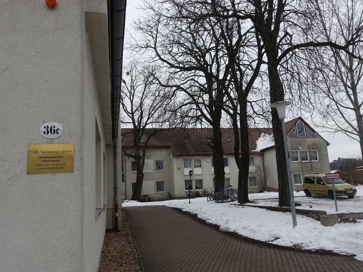 Übergangsheim Hubertusstraße 36c
