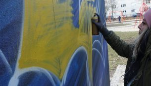 Graffiti Aachener Strasse