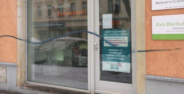 Opfer von Fassadenschmiererei lädt Täter zu Kaffee und gemeinsamem Putzen ein