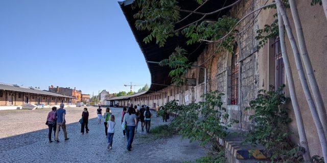 Janes Walk alter leipziger bahnhof