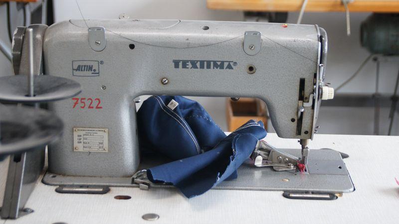 Johann Ruttloffs erste Industriemaschine war eine der Marke Textima