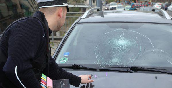 Unfall Leipziger Straße