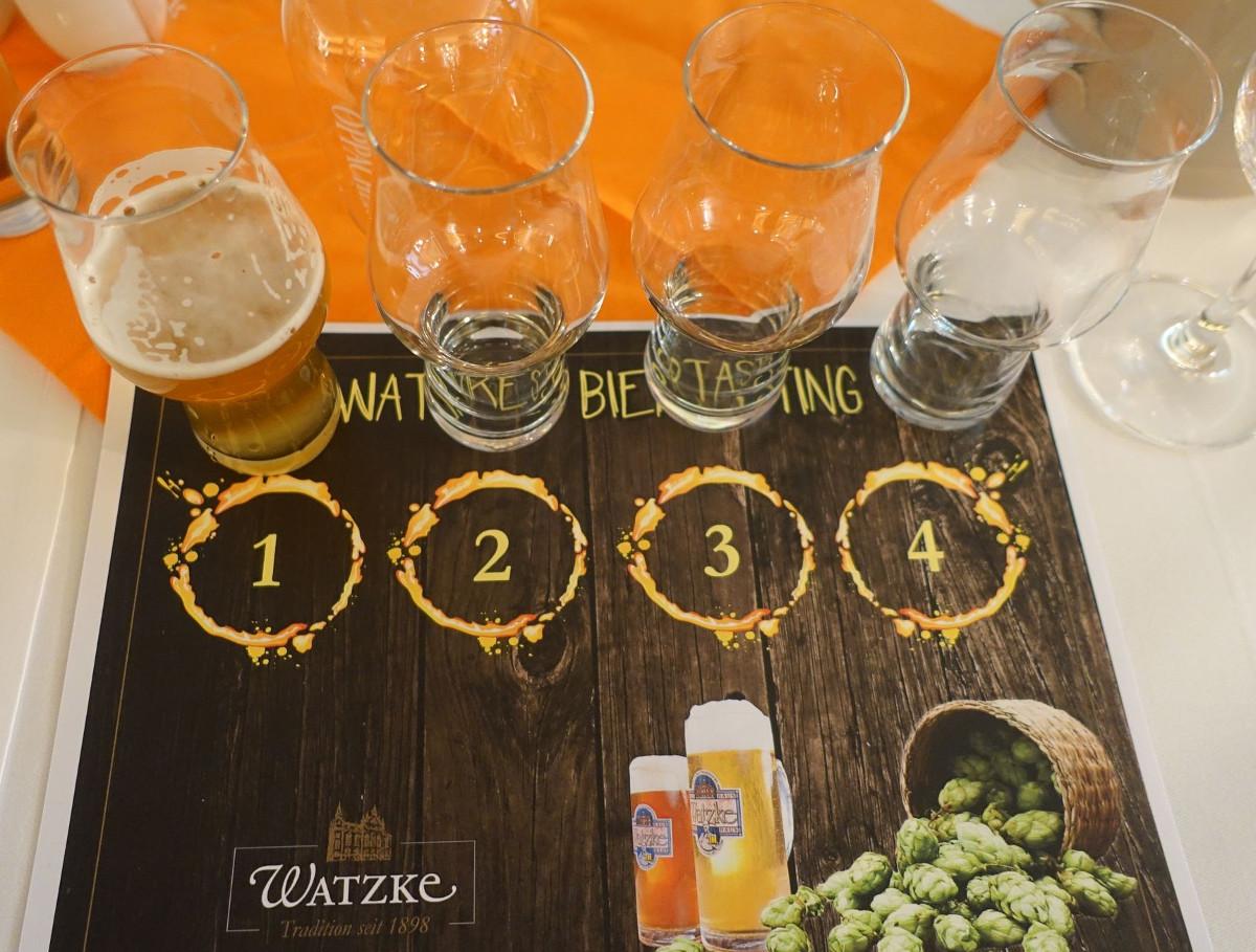 Watzke Bierseminar Verkostung