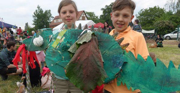 Trachenfest auf den Hufewiesen bei Familien immer beliebter - Finale mit Trachenparade