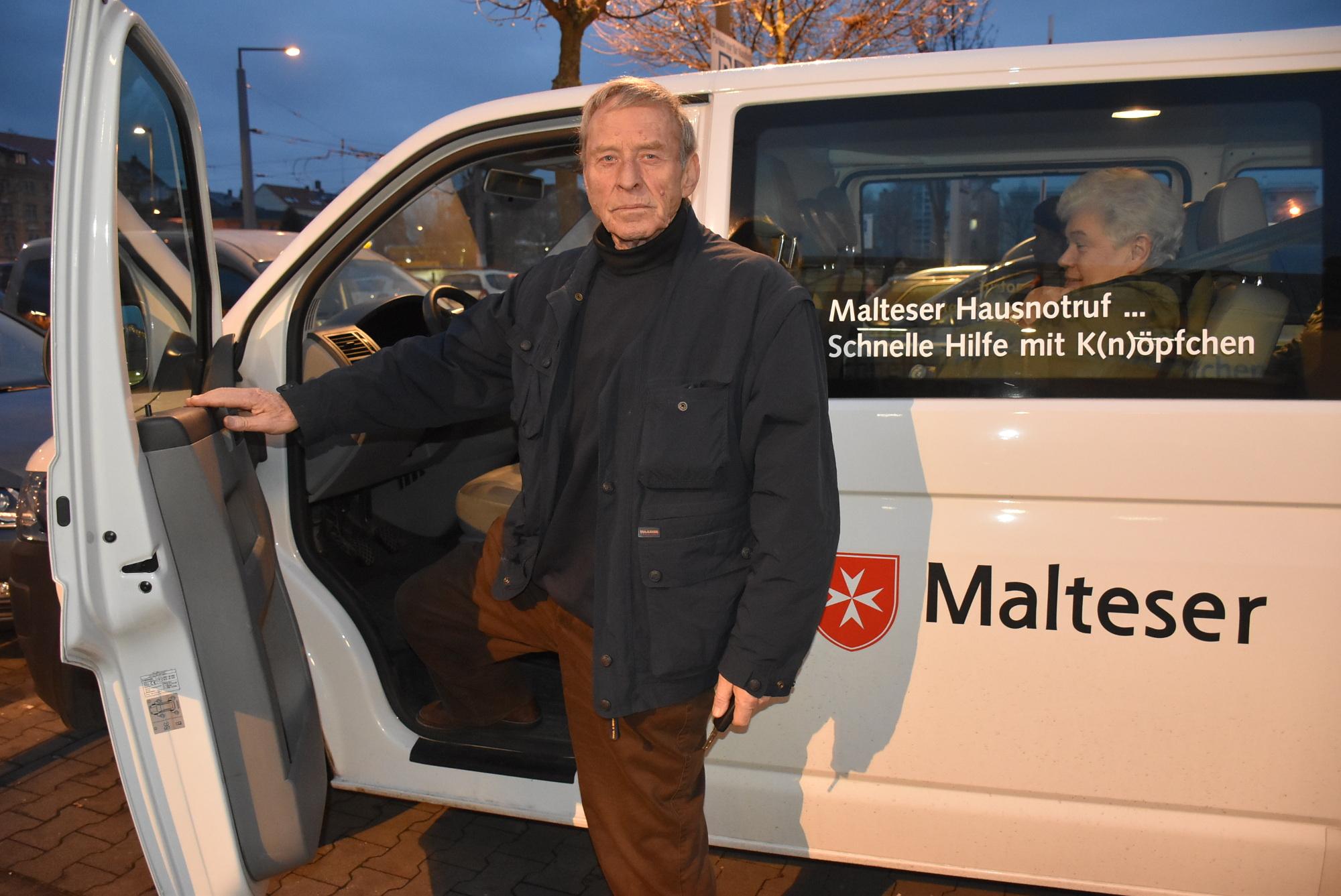mobiler Einkaufswagen Reinhold