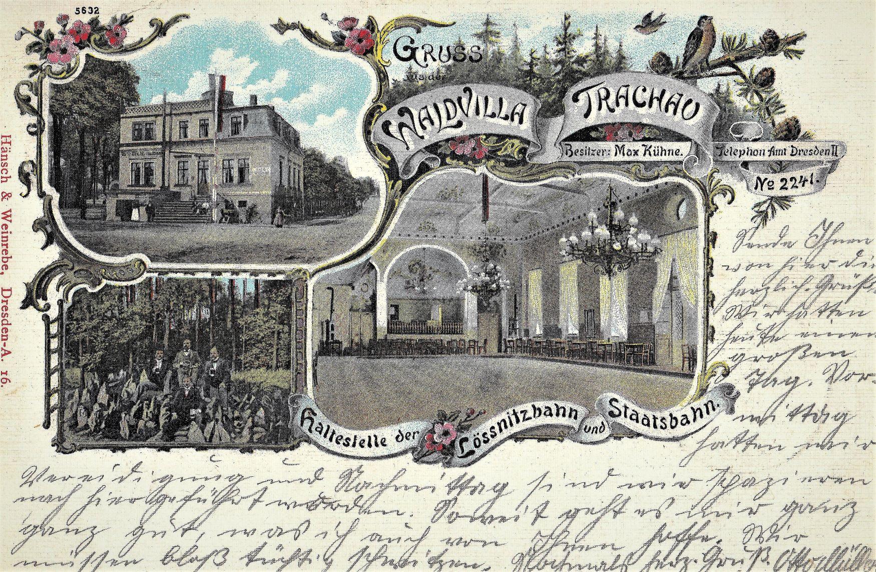 Waldvilla Trachau