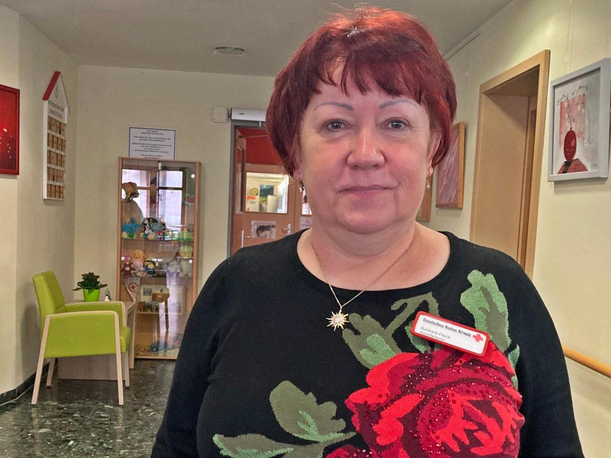 Heimleiterin Barbara Fleck: