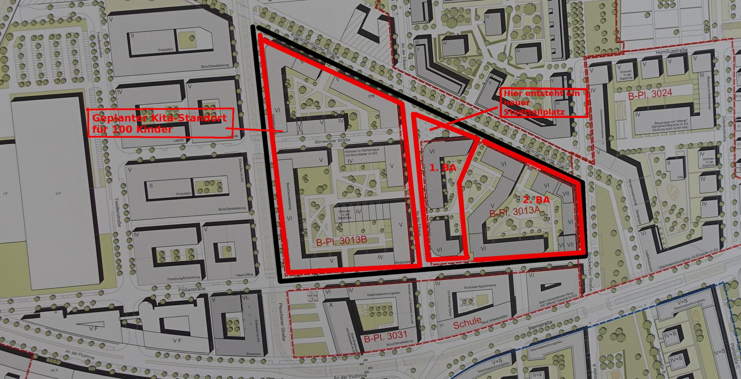 Lageplan Mika Quartier