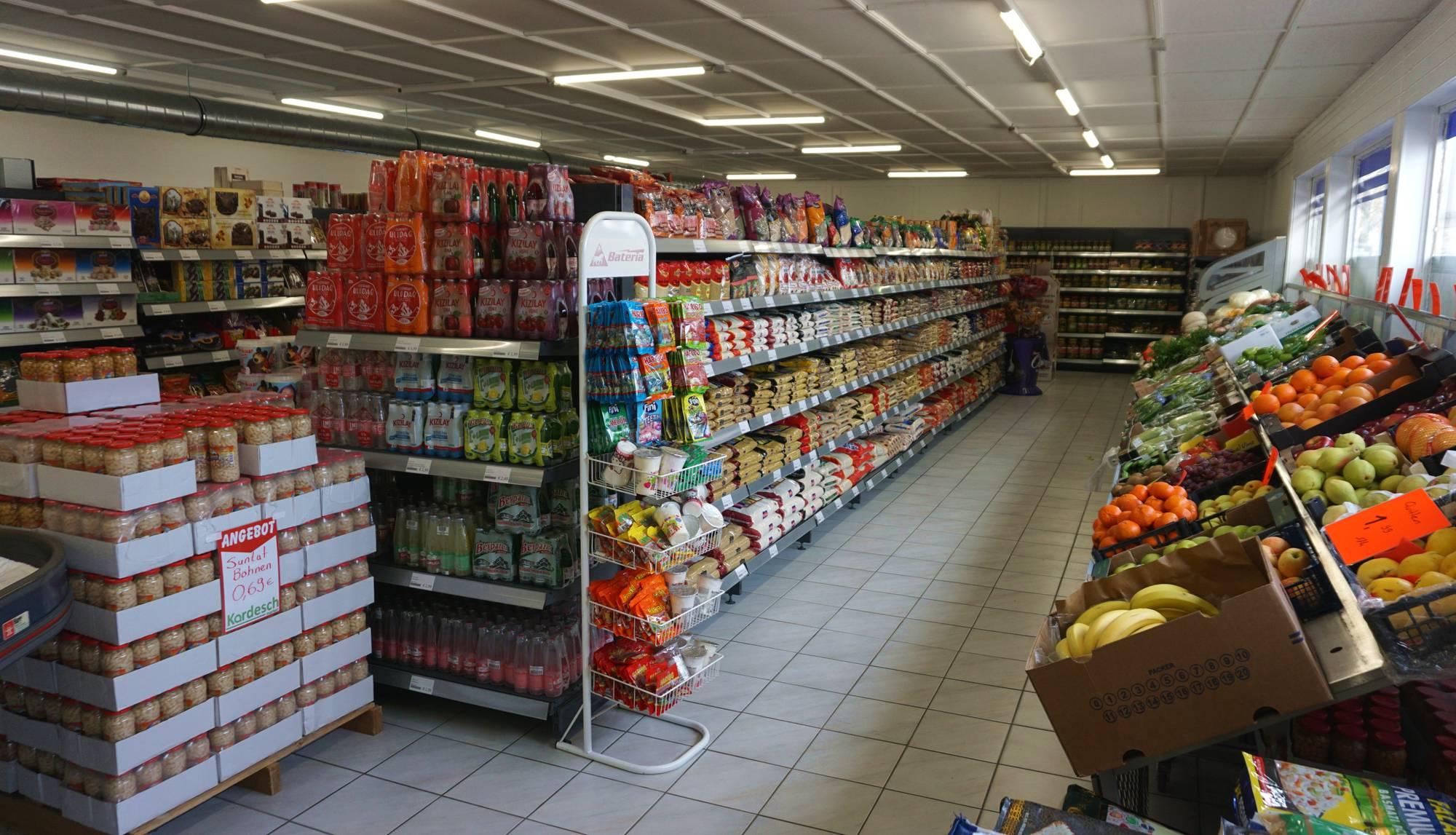Hier kann der ganze Wocheneinkauf erledigt werden.