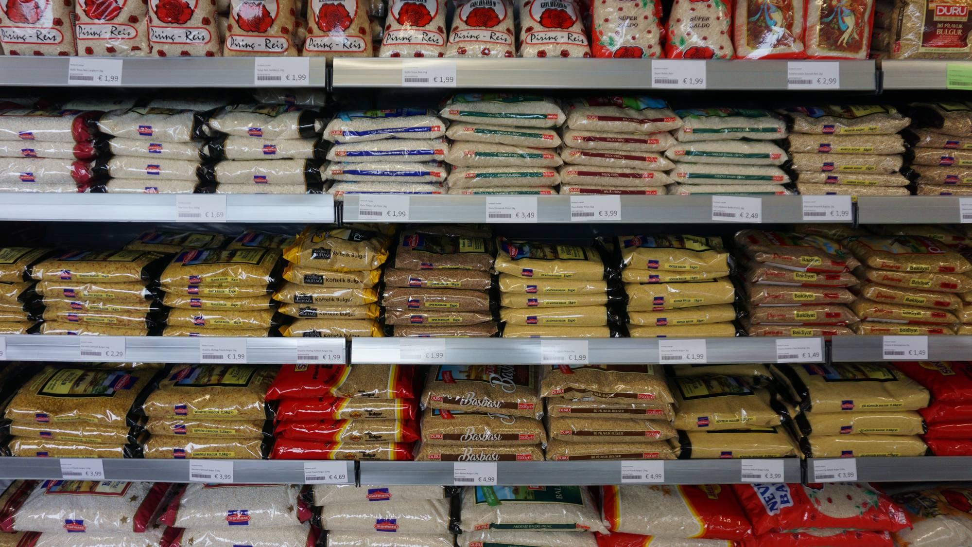 Reis gibt's in allen denkbaren Ausführungen und Formaten.