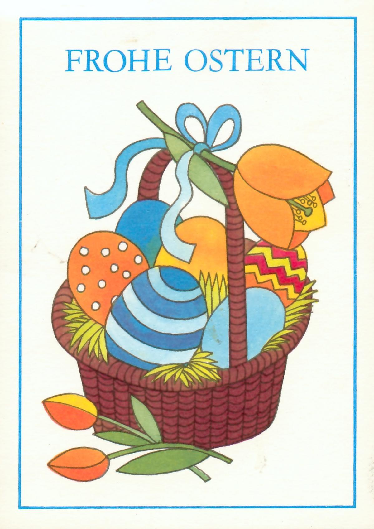 Osterkarte DDR
